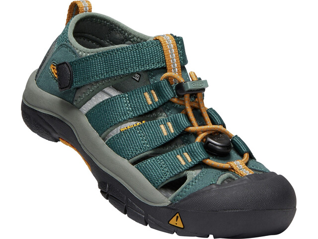 Keen Newport H2 Chaussures Adolescents, green gables/wood thrush